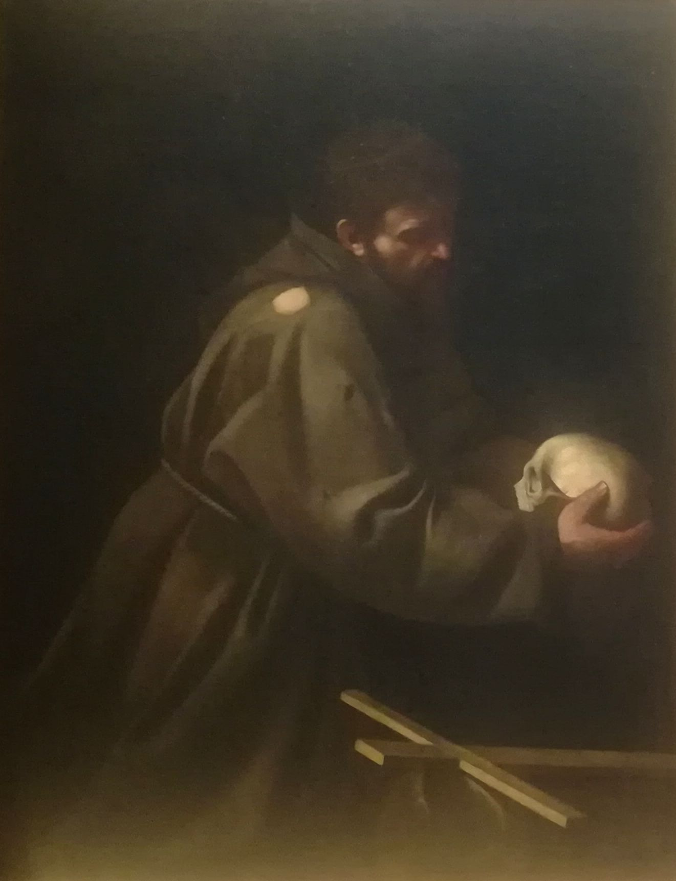 Caravaggio San Francesco 1