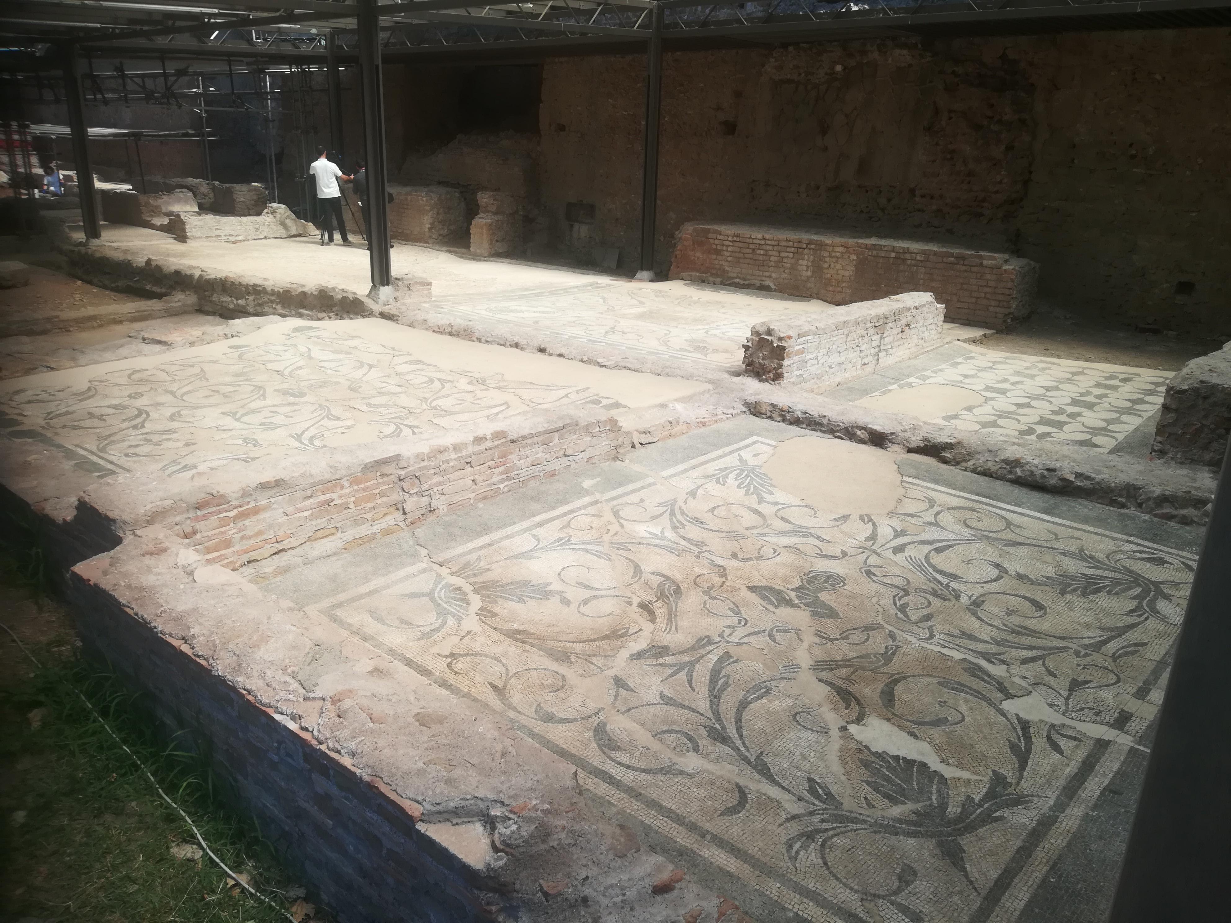 Domus dei ritratti nell'area archeologica di Santa Croce