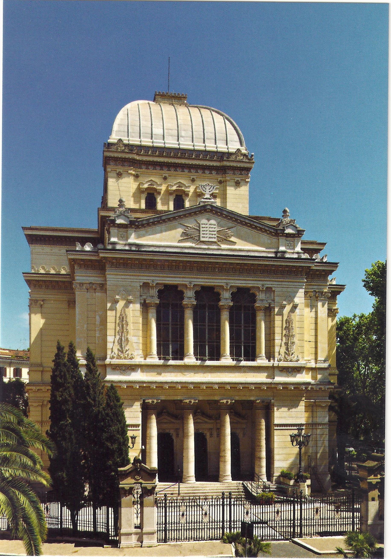 Roma: Fronte del Tempio Maggiore