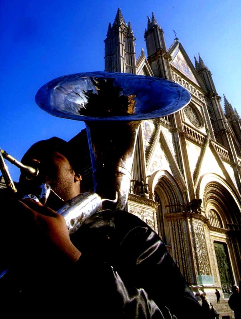 umbria jazz winter orvieto concerto difronte al duomo