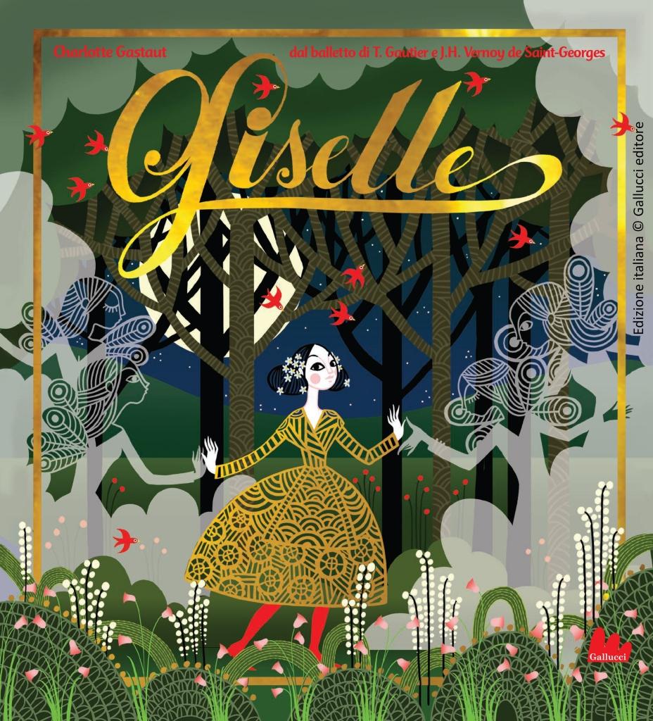 Romics Charlotte Gastaut_Cover Giselle