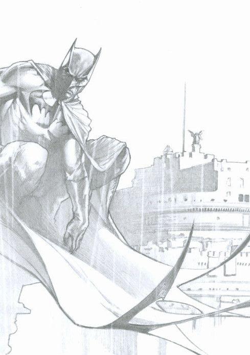 GABRIELE DELL'OTTO BATMAN CASTEL S ANGELO