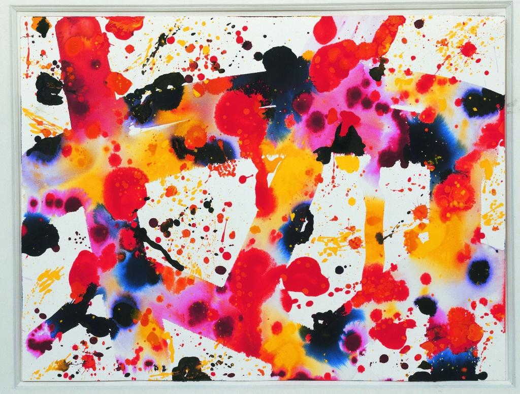 Sam Francis Komposition, 1973 Gouache auf Papier 65 x 78 cm Inv. 3474